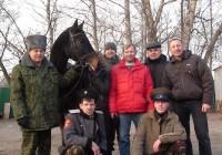 Казаки Московского землячества Оренбургских и Уральских казаков